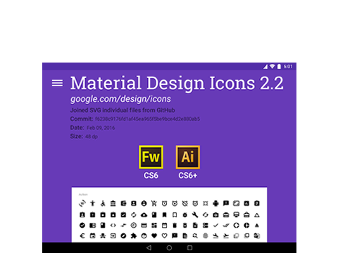 Material Design Icons 2.2